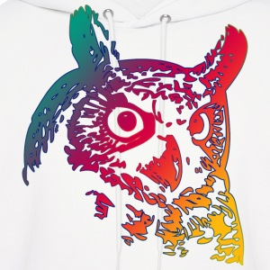 Colorful Owls Hoodies - Men's Hoodie