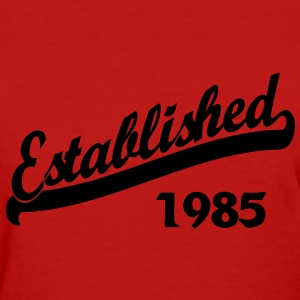 Established 1985 Women's T-Shirts - Women's T-Shirt