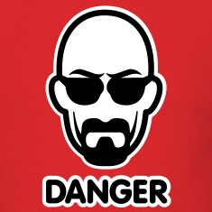 Heisenberg I am the danger T-Shirts