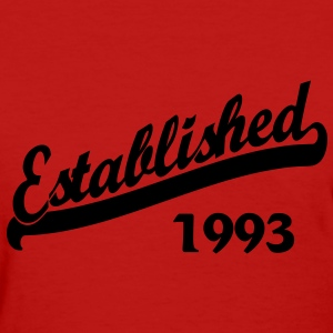 Established 1993 Women's T-Shirts - Women's T-Shirt