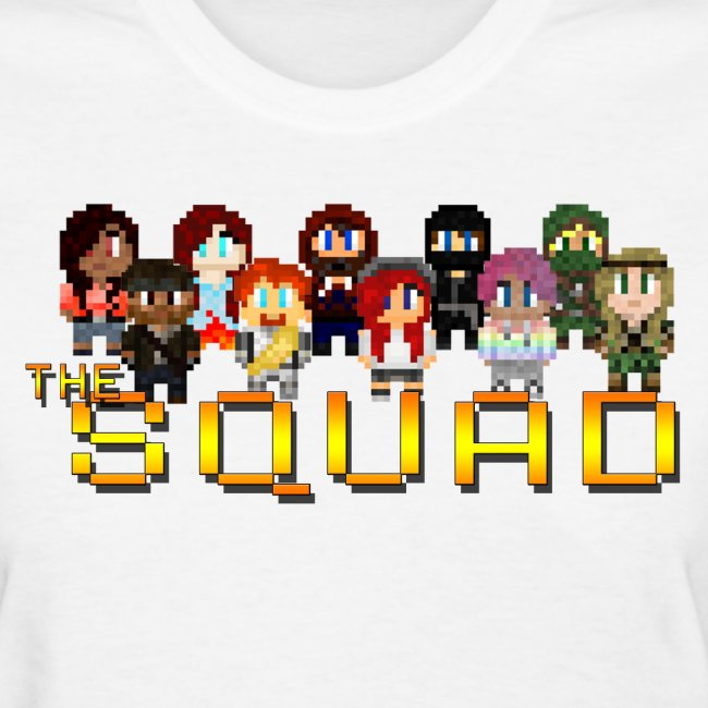Women's 8-Bit Squad T-Shirt