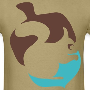 Squirrel In Acorn T-Shirts - Men's T-Shirt