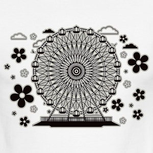 Ferris_Wheel - Men's Ringer T-Shirt