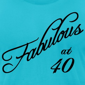 Fabulous at 40 T-Shirts - Men's T-Shirt by American Apparel