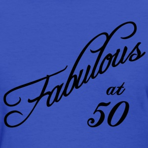Fabulous at 50 Women's T-Shirts - Women's T-Shirt