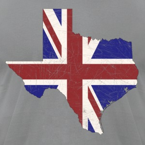 British Texas T-Shirts - Men's T-Shirt by American Apparel