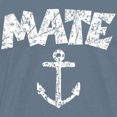 Mate Anchor Sailing Design (Distressed White)