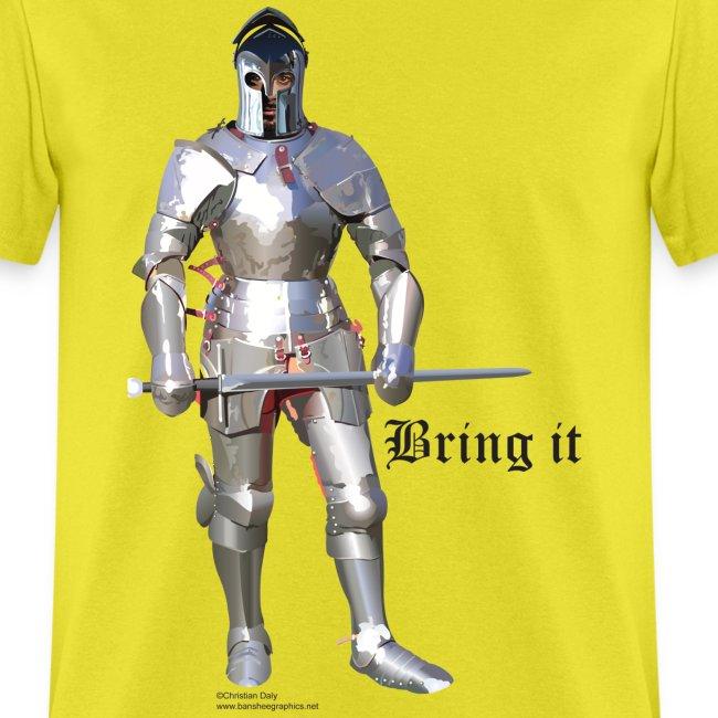Plate Armor Bring it men's standard T