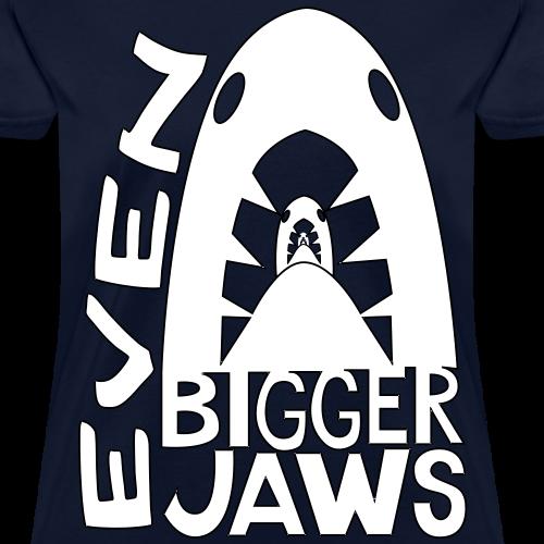 Even Bigger Jaws White Design