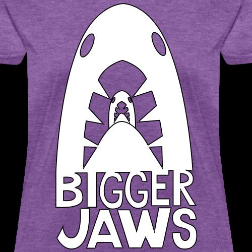 Bigger Jaws White Design