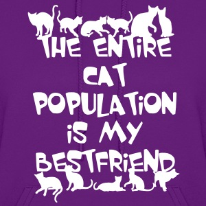 CAT POPULATION Hoodies - Women's Hoodie