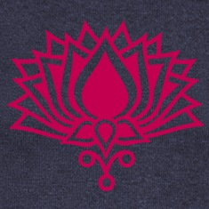 LOTUS FLOWER/ c / symbol of the enlightenment Long Sleeve Shirts