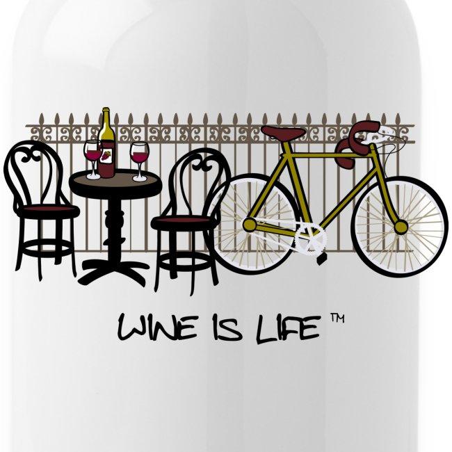 Bicycle Bistro Wine Stop - Water Bottle