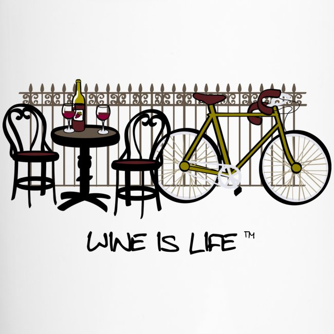 Bicycle Bistro Wine Stop - Travel Mug