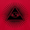 all seeing eye of god - symbol Supreme Being T-Shirts - Men's T-Shirt by American Apparel
