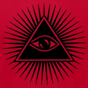 all seeing eye of god - symbol Supreme Being T-shirts (manches courtes) - T-shirt pour hommes American Apparel