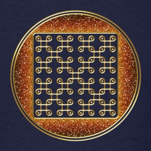 endless knot - crop circle - Cheesefoot head  8/20 T-Shirts - Men's T-Shirt