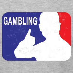 OFFICIAL GAMBLING LOGO T-Shirts - Men's T-Shirt by American Apparel