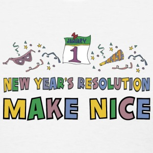 Funny New Year's Resolution T-Shirt - Women's T-Shirt