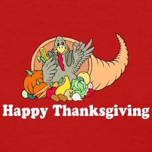 Happy Thanksgiving T-Shirt - Women's T-Shirt