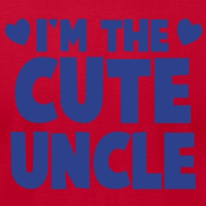 I'm the CUTE UNCLE! T-Shirts - Men's T-Shirt by American Apparel