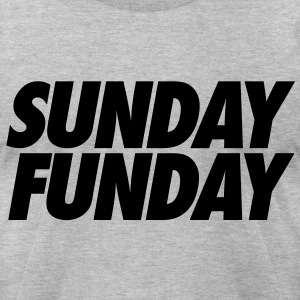 Sunday Funday T-Shirts - stayflyclothing.com - Men's T-Shirt by American Apparel