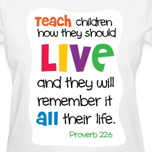 Teach Children Women's T-Shirts - Women's T-Shirt