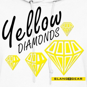 yellow diamonds Hoodies - Women's Hoodie