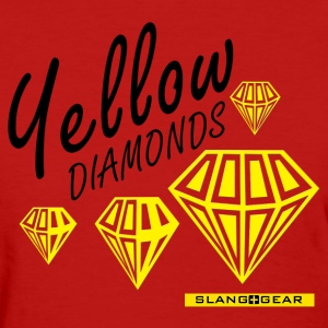 yellow diamonds Women's T-Shirts - Women's T-Shirt