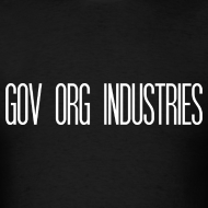 Design ~ Gov Org Industries T-Shirt Black