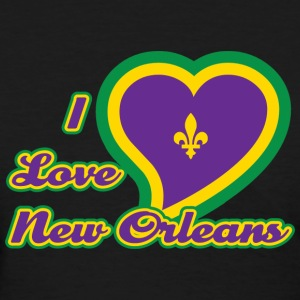 I Love New Orleans T-Shirt - Women's T-Shirt