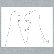 Design ~ T-Rex Trying to Hold Hands...