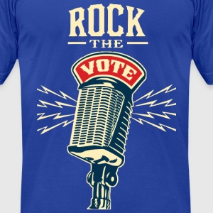 Rock The Vote 2012 - 2012 Elections T-Shirts - Men's T-Shirt by American Apparel
