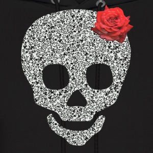 skull and rose Hoodies - Men's Hoodie