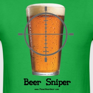 Beer Sniper T-Shirt - Men's T-Shirt
