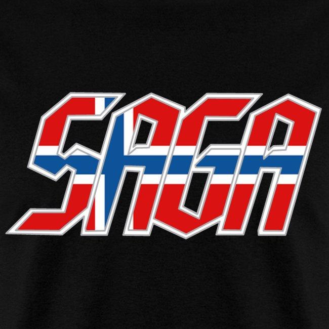 Saga Norway Flag LOGO 2017 Tour Shirt