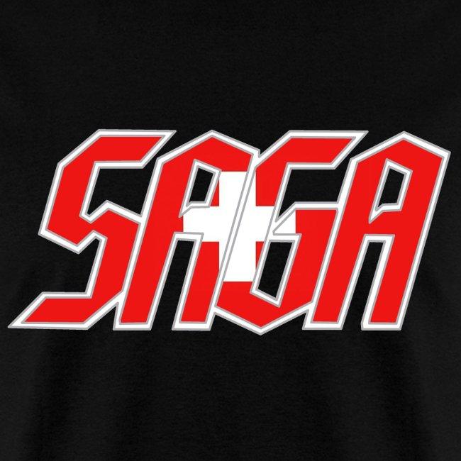 Saga Swiss Flag LOGO 2017 Tour Shirt