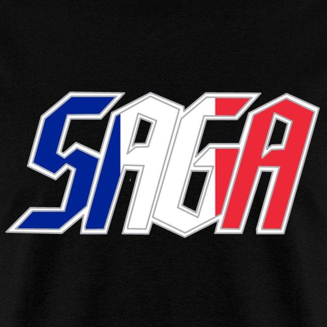 Saga France Flag LOGO 2017 Tour Shirt