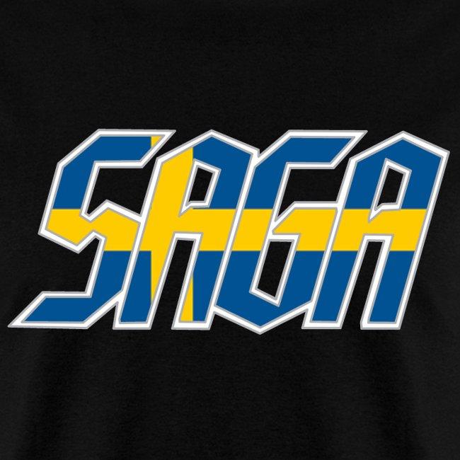Saga Sweden Flag LOGO 2017 Tour Shirt