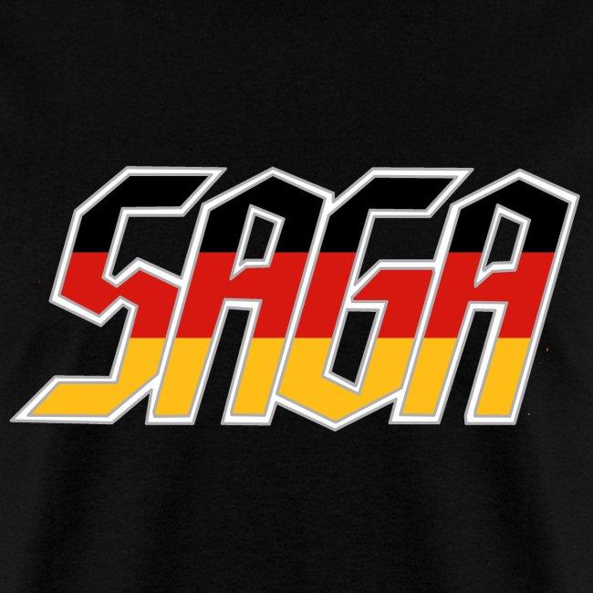 Saga German Flag LOGO 2017 Tour Shirt