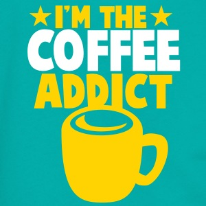 I'm the COFFEE addict! Zip Hoodies/Jackets - Unisex Fleece Zip Hoodie by American Apparel