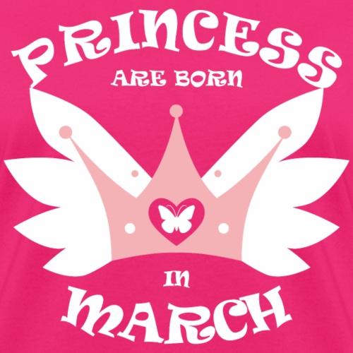 Princess Are Born In March