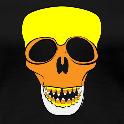Candy Corn Skull Color