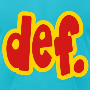 def. T-Shirts - Men's T-Shirt by American Apparel