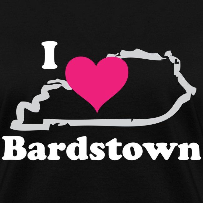 I Heart Bardstown - Womens Gray