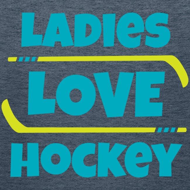 Ladies Love Hockey-Kid's Hoodie