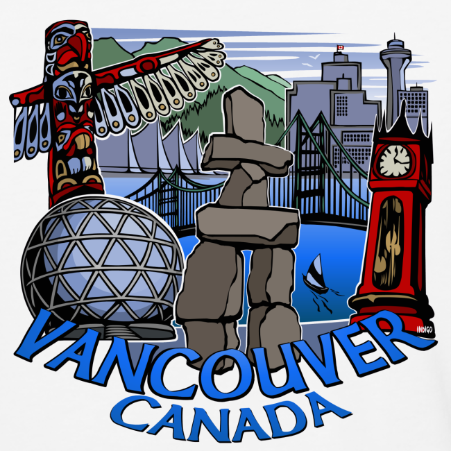 Vancouver Shirt Women's Vancouver Canada Jersey