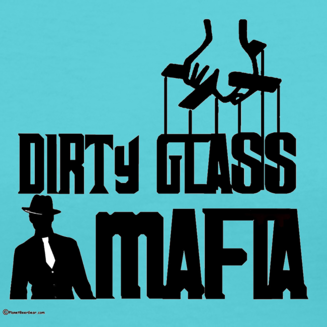 Dirty Glass Mafia Women's V-Neck T-Shirt
