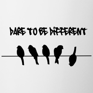Dare to be Different Birds on a wire Accessories - Coffee/Tea Mug