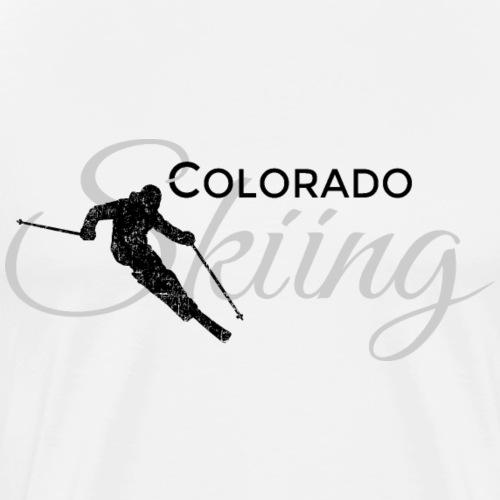 Colorado Skiing Skier (Black&Gray)